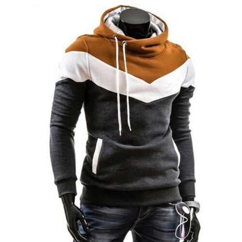 Thickened Man Top Casual Hoodie Autumn Men Long Sleeve Slim Fit Men Hoodie JA