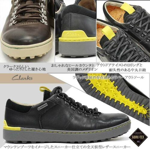 O Invierno Hombre Clarks Marrón Negro Zapato Mix Gtx Nanu X Gb 6g Cuero XRgABnR8