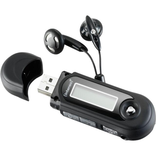 Intenso Music Walker, MP3-Player, schwarz