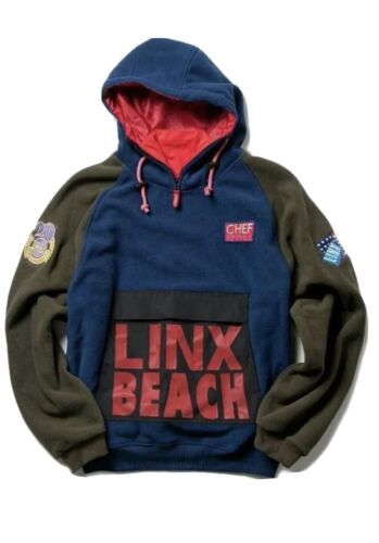CL-95 LINX BEACH MK3 Hoodie XL Hip Hop Ralph Laure