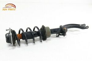 Pair Front L-R Complete Load Strut-Coil Spring For 2000-2004 Audi A6 Quattro AWD