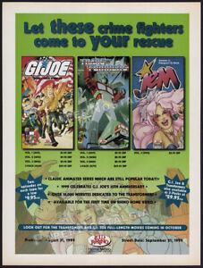 G-I-JOE-TRANSFORMERS-JEM-Orig-1999-Trade-Print-AD-ADVERT-promo-GI-Joe