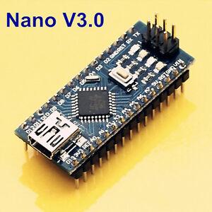 Nano V3.0 ATmega328P 5V 16M Micro-controller Board Arduino Compatible UK Stock.
