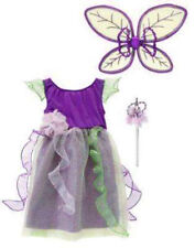 NWT GYMBOREE PRETTY PIXIE FOREST FAIRY COSTUME LOT PURPLE DRESS WINGS WAND 10-12