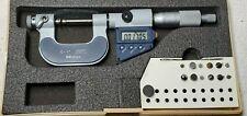 Nice Machinist Mitutoyo No 326 711 30 Digital Thread Micrometer 12 Anvils Amp Case