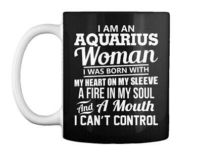 I Am An Aquarius Woman T Gift Coffee