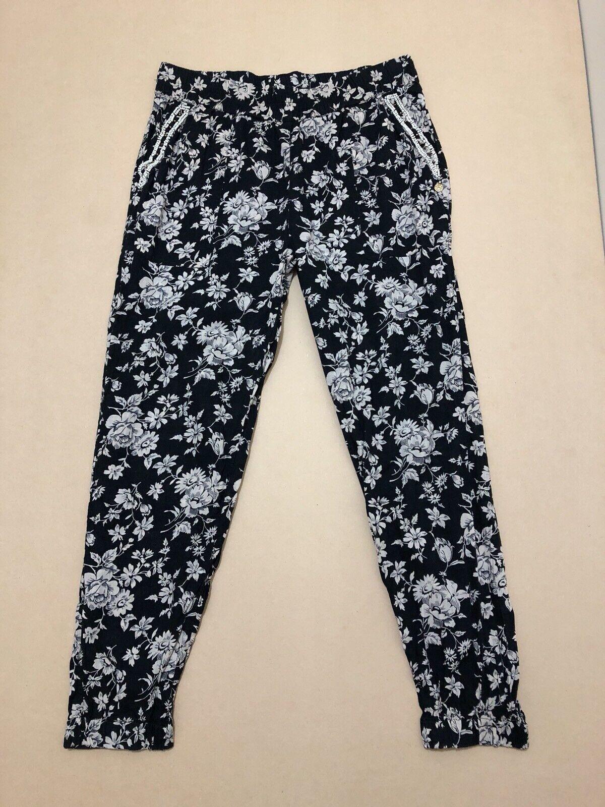 Maison Scotch Pants Womens  Size 2 or AU 10  Great Cond Floral Print Design