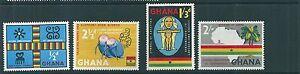 Ghana 1959 SG 207-210 MM