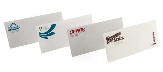 500 Custom Printed Full Color Commercial #10 Envelopes