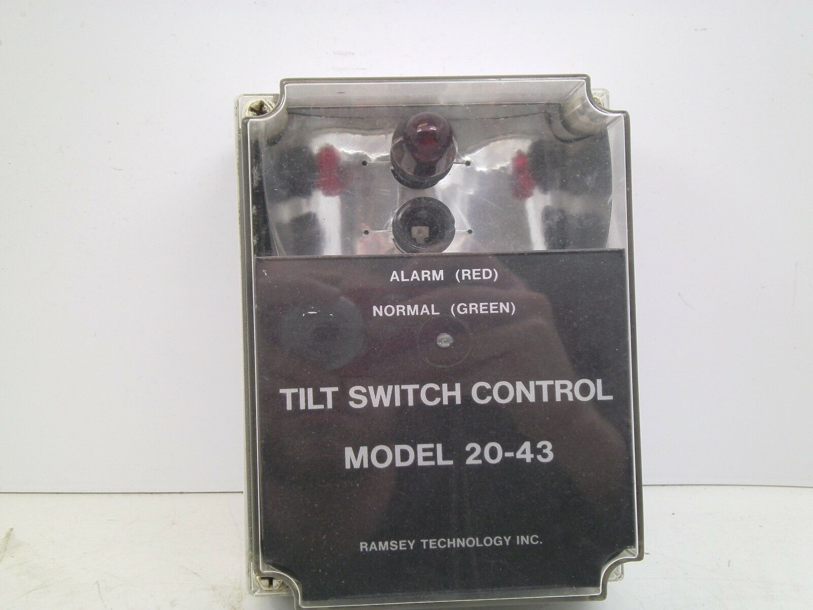USED THERMO SCIENTIFIC 081659 TILT SWITCH CONTROL MODEL 20-43 CB FREE SHIP