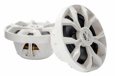 "Cerwin Vega XM65W 250 Watt White 6.5/"" 2-Way Coaxial Marine UTV//ATV//SSV Speakers"