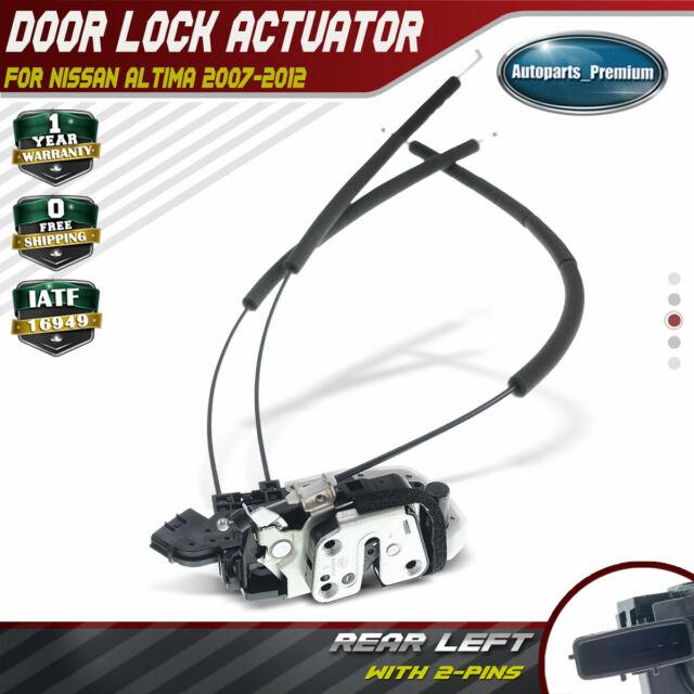 Door Lock Actuator Rear Left For Nissan Altima Sedan 2 5l 3 5l 07 12 82501 Ja00a Ebay