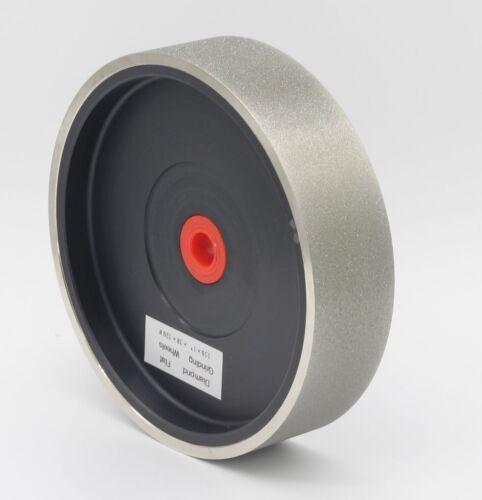 "8/""x1-1//2/"" 100Grit Lapidary Glass Grinder Diamond Hard Flat Grinding Wheel"