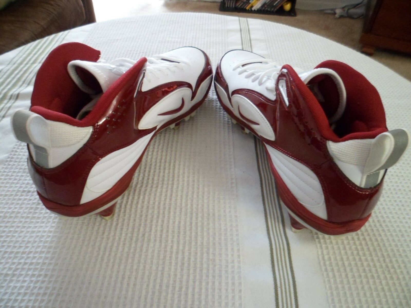 huge discount 12056 6b5f0 ... Nike Zoom Merciless Pro Shark TD Football Football Football Cleats NEW  sz12 ~354905-162 ...