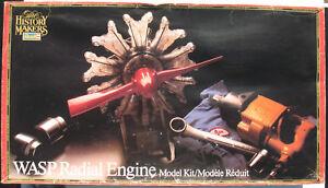 Revell-8614-WASP-Radial-Engine-Motor-Sternmotor-1-4-Modellbausatz-Kit