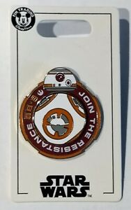 Disney-Star-Wars-BB-8-Join-the-Resistance-Spinner-Pin-NEW