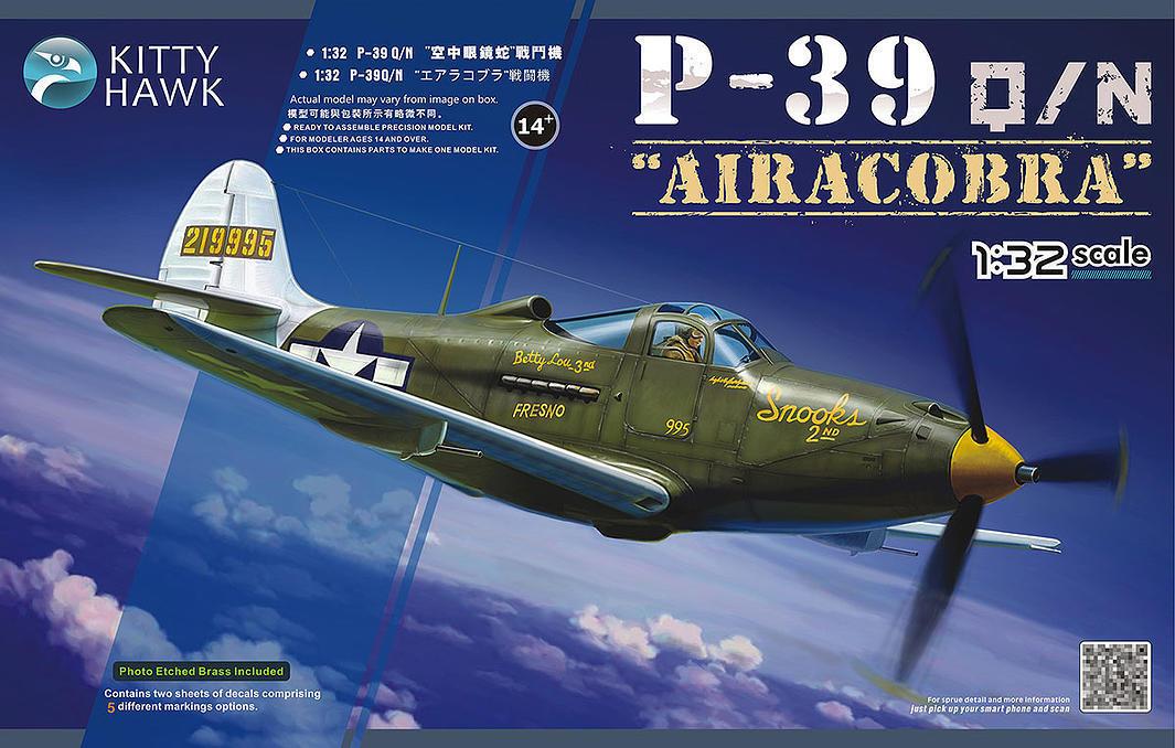Avion de chasse US BELL P-39 Q N