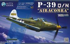 "Avion de chasse US BELL P-39 Q/N ""AIRACOBRA"", 1943- KIT KITTY-HAWK 1/32 N° 32013"