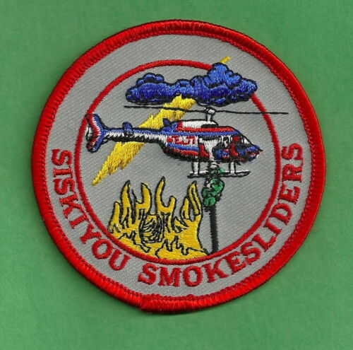 SISKIYOU NATIONAL FOREST U.S FOREST SERVICE SMOKESLIDERS FIRE CREW PATCH