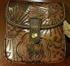 NWT Disney Sketch Small Crossbody Dooney & Bourke Brown Leather