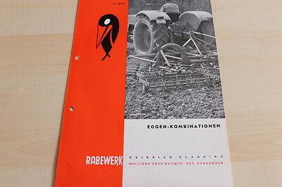 Prospekt 02/1970 Rabewerk 144561 Eggenkombination