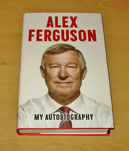 Sir-Alex-Ferguson-Signed-Book-Autograph-First-Edition-My-Autobiography-COA