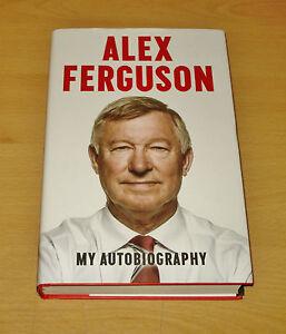 Sir-Alex-Ferguson-Signed-Book-Autograph-First-Edition-My-Autobiography-COA
