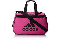 Adidas Diablo Small Duffel Shoulder Sport Gym Travel Bag Cross Body Pink