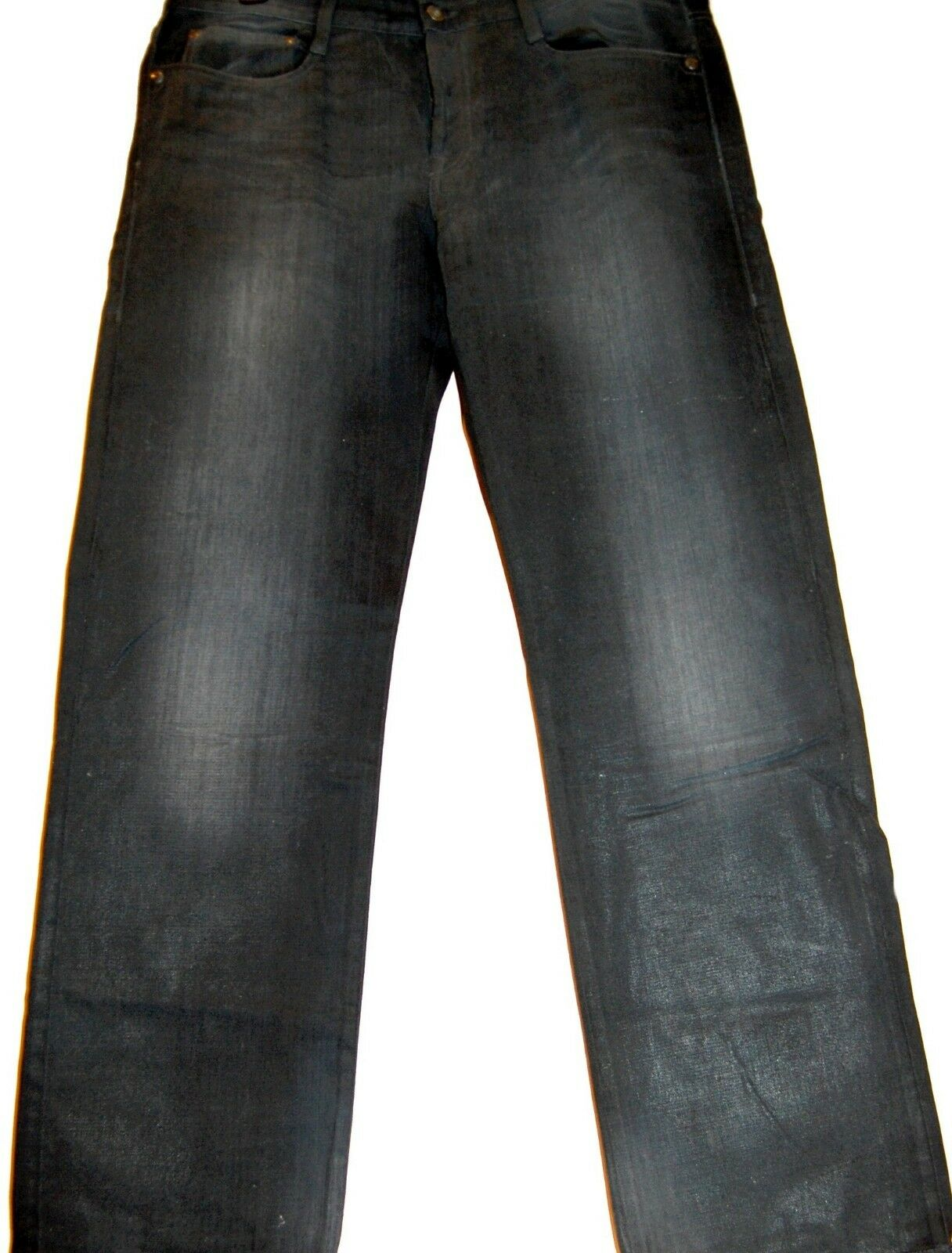 Italian  Mens bluee  Jeans Pants Size US38 Cotton Made in  NEW