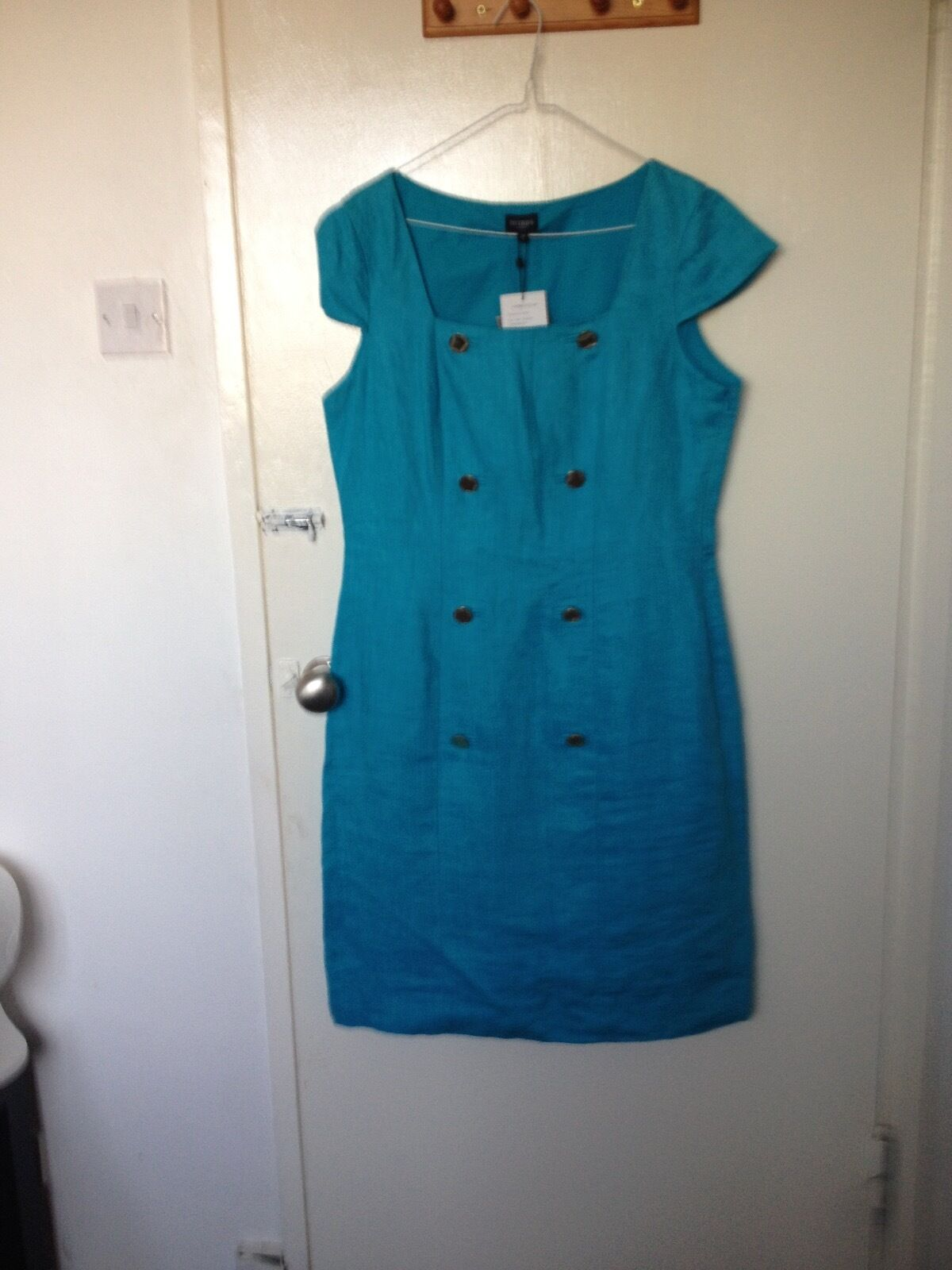 Turquoise Cotton dress from Hobbs
