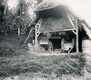 LE-BOURGTHEROULDE-c-1940-Grange-Attelages-Eure-Normandie-DIV1626