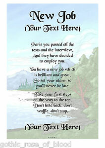 Personalised A4 A5 Easter Poem Scroll Gift Various Designs