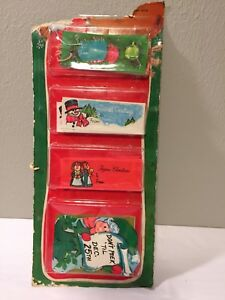 Christmas Bells Free Shipping Snowman Christmas Kitten 105 Pieces Vintage Christmas Gift Tags 1960s String Christmas Tags