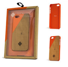 Native Union Clic Wooden Protection Case for iPhone SE 5/5S/SE Cherry Wood Coral