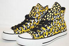 CONVERSE CHUCKS ALL STAR HIGH Gr.35 UK 3  Cheetah Gebhard animal print gold gelb
