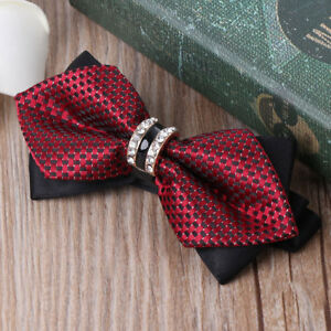 Bow-Tie-Luxury-Wedding-Party-Butterfly-Classic-British-Diamond-Gentle-Casual-Men