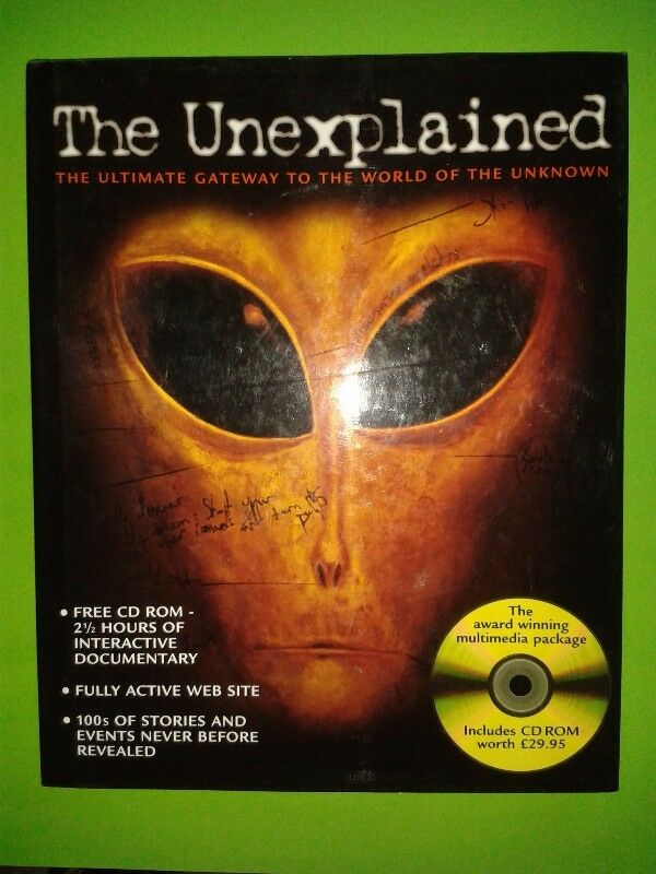 The Unexplained - The Ultimate Gateway To The World Of The Unknown - Simon & Schuster.