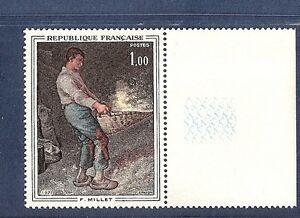 SUPERBE-VARIETE-MAURY-N-1672a-YT1672-034-le-vanneur-jaune-absent-034-cote-850