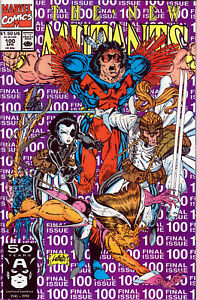 NEW-MUTANTS-100-1ST-PRINT-1st-Appearance-of-X-Force-Rob-Liefeld-Art