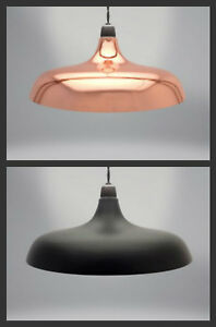 Image is loading RETRO-COOLIE-DOME-DESIGN-EASY-FIT-LIGHT-PENDANT- & RETRO COOLIE DOME DESIGN EASY FIT LIGHT PENDANT SHADE FITTING ...
