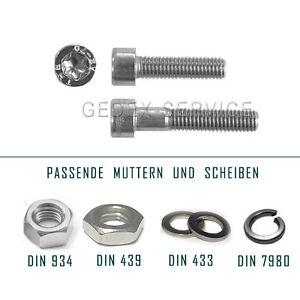 Torxschrauben-ISO-14579-M2-M2-5-M3-M5-M5-M6-M8-Edelstahl-A2-DIN-934-439-433-7980