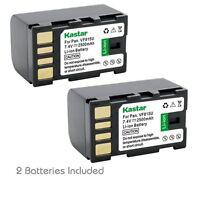 2x Kastar Battery For Jvc Bn-vf815 Gs-td1 Gy-hm70u Gy-hm100u Gy-hm150u Gz-hmz1u