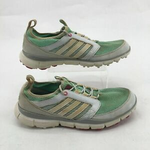 Details about Adidas Adistar Climacool Golf Shoes Lace Up Mesh Q46781 Mint Green Womens 9