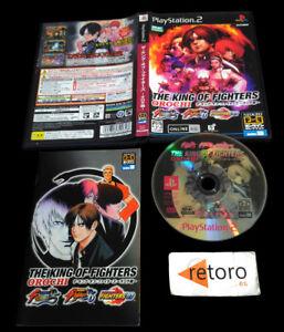 THE-KING-OF-FIGHTERS-OROCHI-PS2-PLAYSTATION-2-Jap-SNK-KOF-95-KOF-96-kOF-97