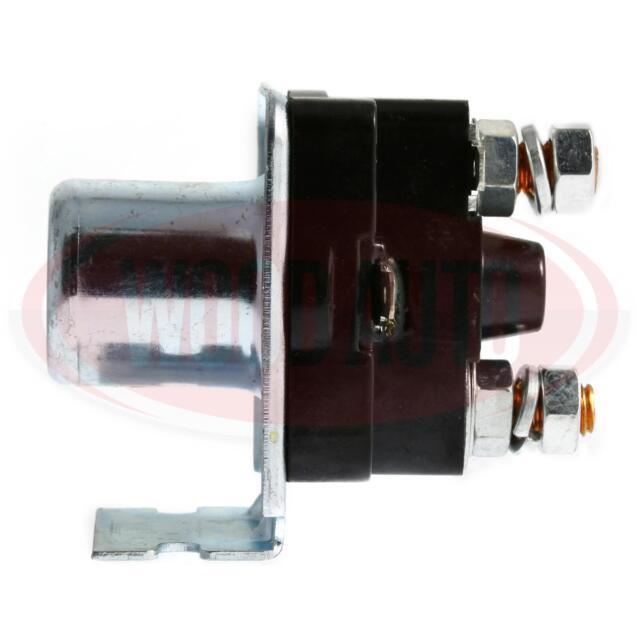 STARTER MOTOR UNIVERSAL SOLENOID 12V LUCAS SRB325 0-335-00 SND157 WOOD AUTO