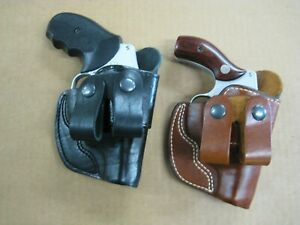 AZULA-In-The-Waistband-IWB-Leather-Dual-Belt-Loop-Holster-CCW-Choose-Gun-1