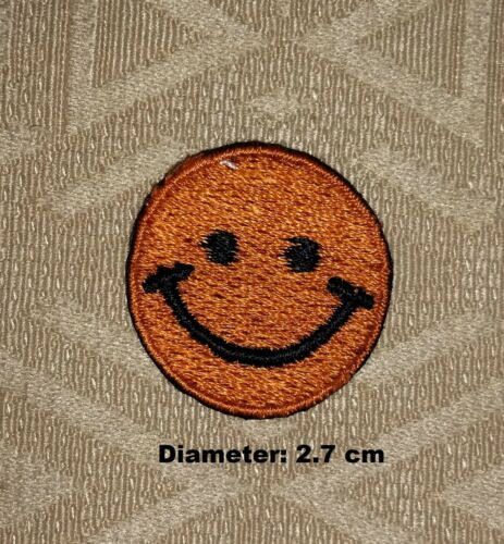 Smiley Faces Mini Iron-on// Sew-on Embroidered Patch Badge// Logo