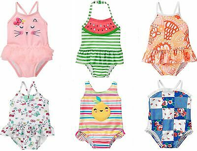 2T,3T,4T NWT Gymboree Girls Butterfly Swimsuit Toddler UPF 50