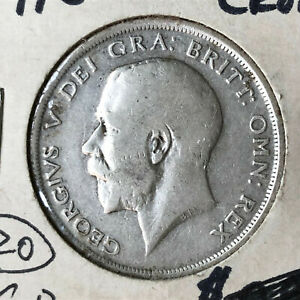 1916-Great-Britain-Half-1-2-Crown-Silver-Coin