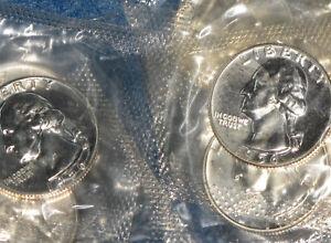 1956-Washington-Silver-Quarter-Gem-Proof-lot-of-13-coins-in-US-Mint-cello-E0204